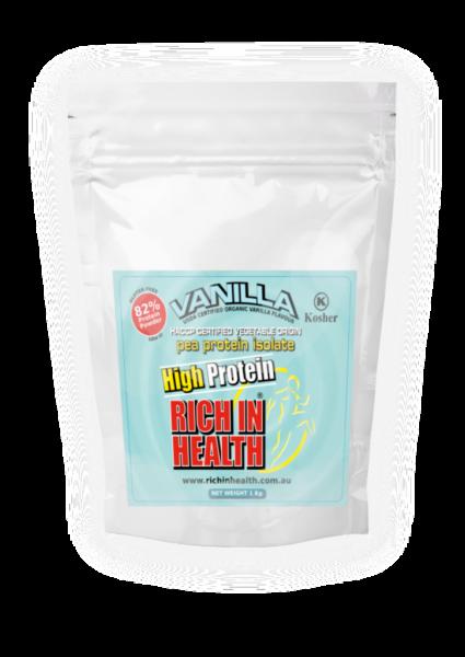 1Kg Vanilla Flavour Plant Based Pea Protein Powder – Vegan – Vegetarian